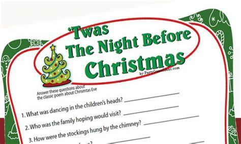 the night before christmas movie trivia printable trivia bingo gift exchanges