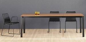 table salle a manger rallonge design With table de salle a manger design avec rallonge