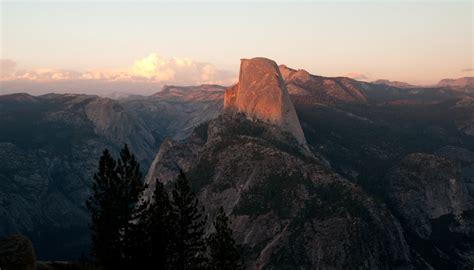 Forest Dr Yosemite National Park Ca Usa Sunrise Sunset