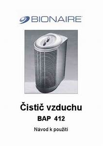 Bionaire Bap 412 Air Cleaner   Air Purifier   Air Humidifier