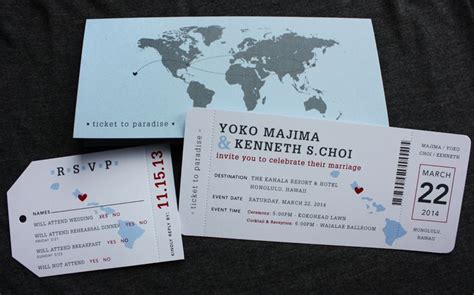 sky blue gray red hawaii world map airline ticket