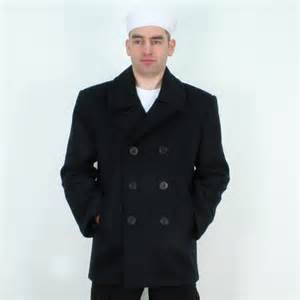 German Navy Deck Jacket by Us Navy Pea Coat Usn Reefer Jacket