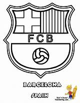 Coloring Soccer Football Pages Fifa Barcelona Boys Cup sketch template