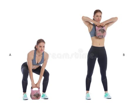 kettlebell pull row upright deadlift exercise sumo pulls workout fitness shoulder woman glutes perform snatch preview routine requisites pre
