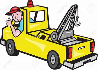 Truck Driver Clipart Tow Wrecker Vector Cliparts