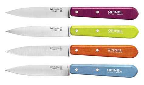 couteau de cuisine opinel coffret de 4 couteaux n 112 couleurs acidulées la