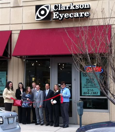 clarkson eyecare opens new office in the central west end