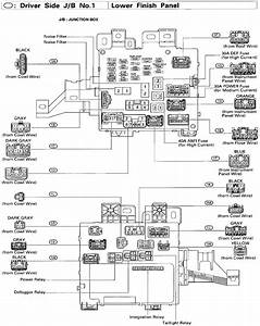 2005 Toyota 4runner Fuse Box Diagram