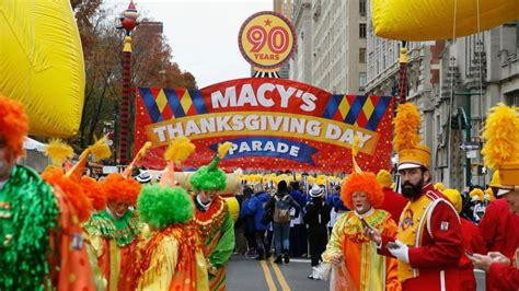 macys thanksgiving day parade pioneer pages