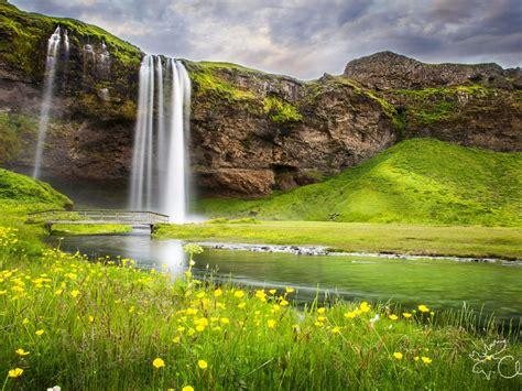 summer river nature waterfall landscape wallpaper hd