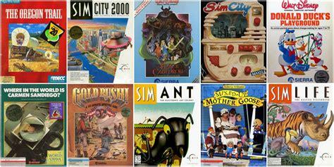 sunday top ten raddest computer games  played