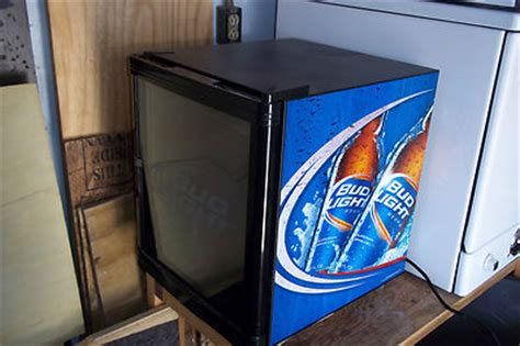 bud light bar fridge brewery antique price guide