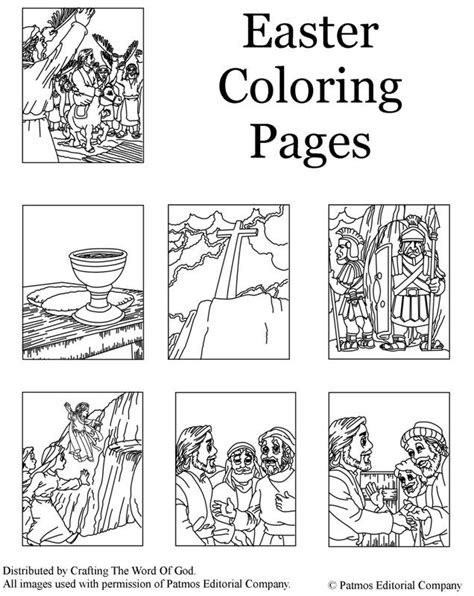 resurrection coloring pages empty 171 crafting the word of god