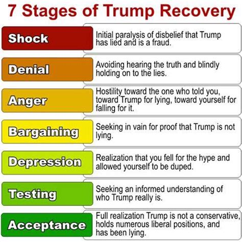 Reaganite Independent: 7 STAGES of TRUMP RECOVERY: