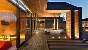 Construction De Chalet Avec Architecture Bois
