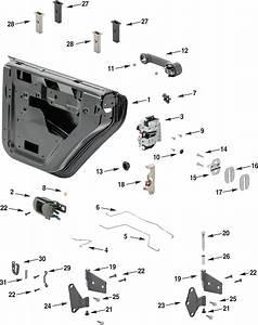 Jeep Wrangler Jk Rear Half Steel Door Parts