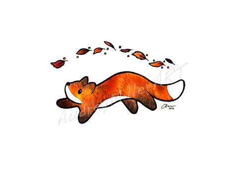 fox trot  originally   gouache  ink