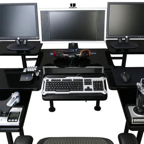 bureau gamer roccaforte le bureau ultime du gamer gamerstuff fr