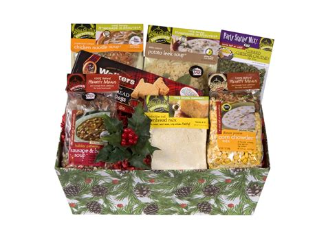 frontier soups introduces new healthy holiday gift basket