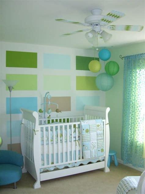 chambre bebe verte deco chambre bebe vert et bleu