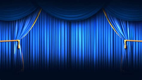 Blue Curtains by Background Hd Blue Closing Curtain