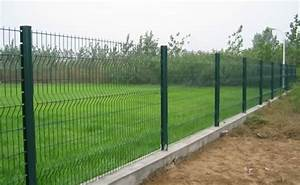 Wire mesh fences are used in protection and isolation for road