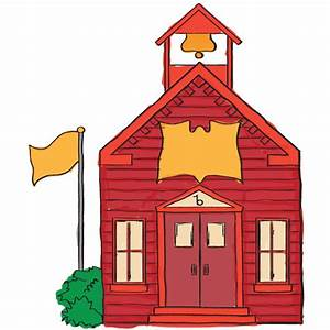 school house clipart – Clipart Download