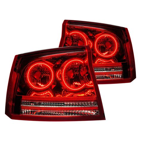 2007 dodge charger tail lights oracle lighting dodge charger 2007 chrome red factory