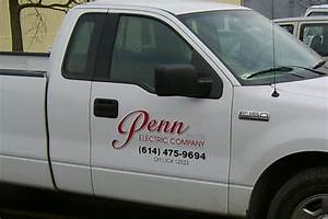 vinyl signs lettering lehner signs With truck lettering design ideas