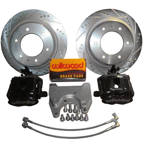Datsun 620 Disc Brake Conversion by Rear Wilwood Brake Set W E Brake Brake Conversion