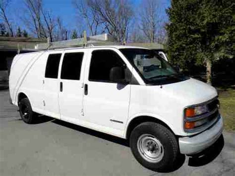 manual cars for sale 1999 chevrolet express 3500 regenerative braking buy used 1999 chevy express 3500 cargo van 155 wheel base in poughquag new york united states