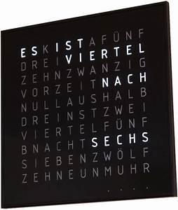 Uhr Mit Worten : w rter funkuhr 3 funkuhren selber ~ A.2002-acura-tl-radio.info Haus und Dekorationen