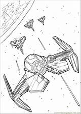 Wars Star Ship Coloring Pages Coloringpages101 sketch template