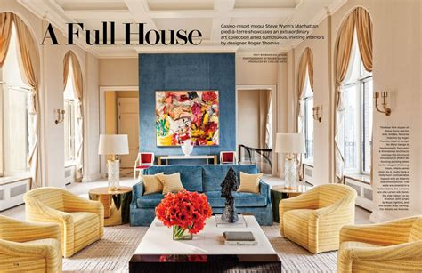 Full House - Architectural Digest March 2014 - Interiors