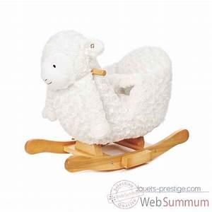 Mouton A Bascule : cheval bascule caramel janod j05984 dans jouets bascule sur jouets prestige ~ Teatrodelosmanantiales.com Idées de Décoration