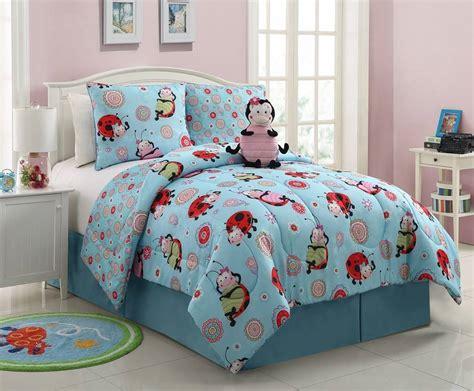 vibrant lola ladybug reversible comforter set nwt or size ebay - Fun Comforter Sets