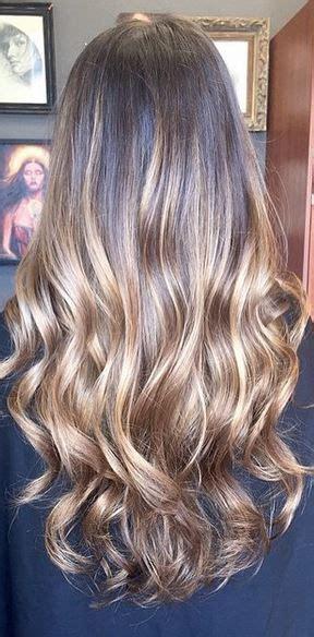 balayage      hair coloring brunette