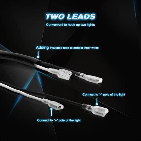 Galleon Nilight Off Road Led Light Bar Wiring Harness