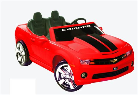 camaro racing 2 seater 12v car chevymall