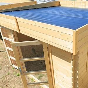 Toit En Bois : chalet jardin boutique abri bois soleil toit plat ~ Melissatoandfro.com Idées de Décoration