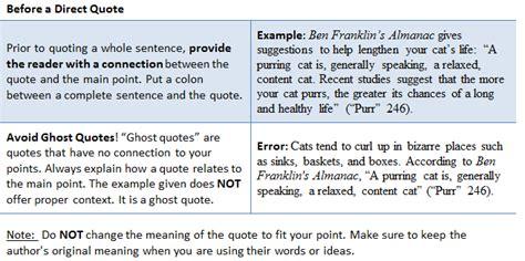 integrate sources  mla formatting cwi