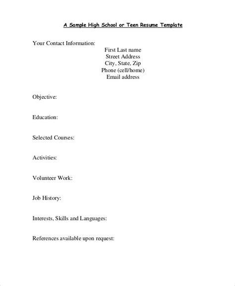 resume sles best resume gallery
