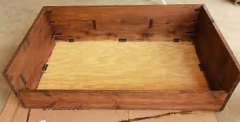 pdf diy wooden dog bed frame plans download wooden