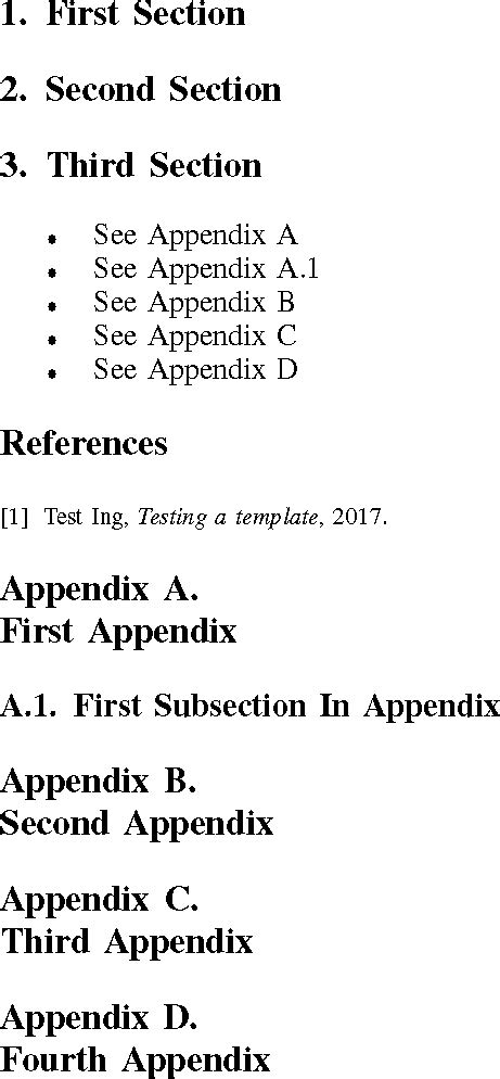 These can help to provide a visual representation of data or other information that you. appendices - IEEEtran problem in Appendix - TeX - LaTeX ...