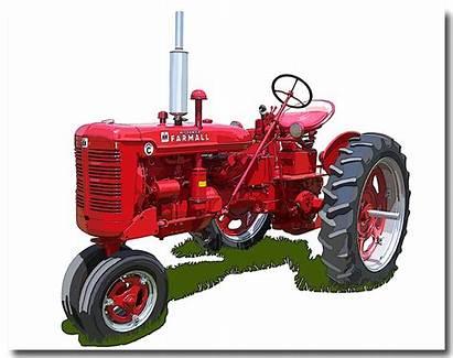 Tractor Clipart International Harvester Harvestor Inernational Farmall