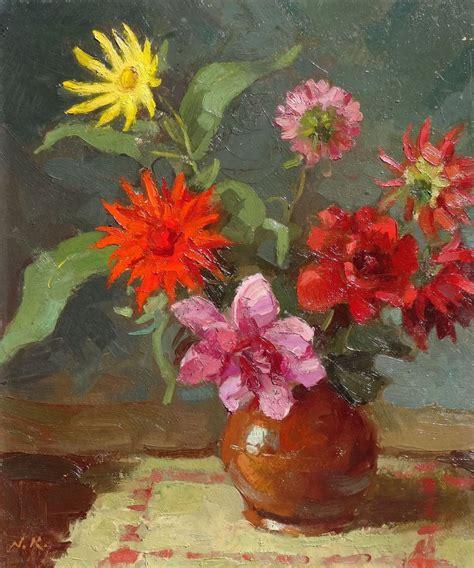 Dālijas - Kūlainis Nikolajs - Klasiskās mākslas galerija ...