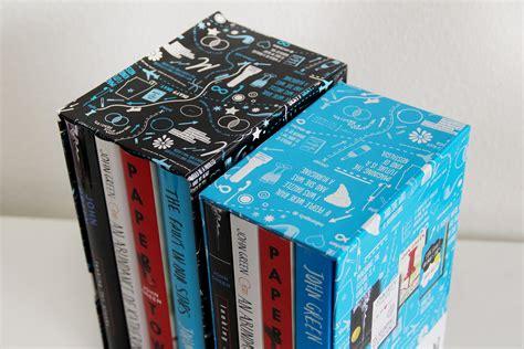 John Green Paperback Box Set Designs