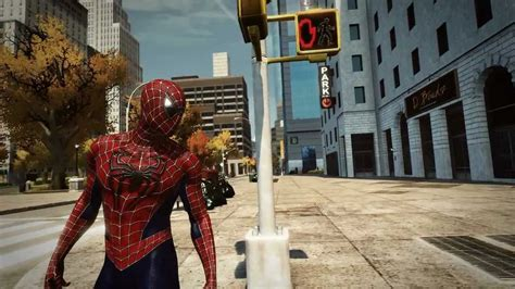 amazing spider man pc game raimi classic red blue