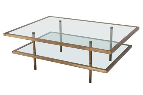 two tier glass coffee table french bronze and glass two tier coffee table at 1stdibs
