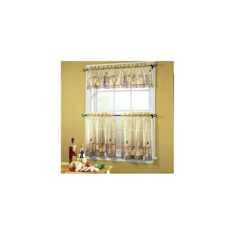 Tuscany Kitchen Tier   Curtain Drapery.com